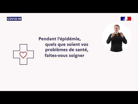 Vidéo Nouveau Spots TV et Radio Coronavirus: La continuité des soins - Voix Off: Marilyn HERAUD