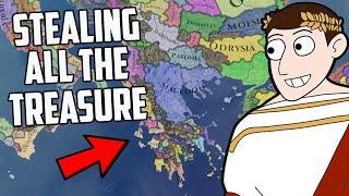 What If I Stole The Worlds Treasure?! Imperator Rome 1.4 Archimedes