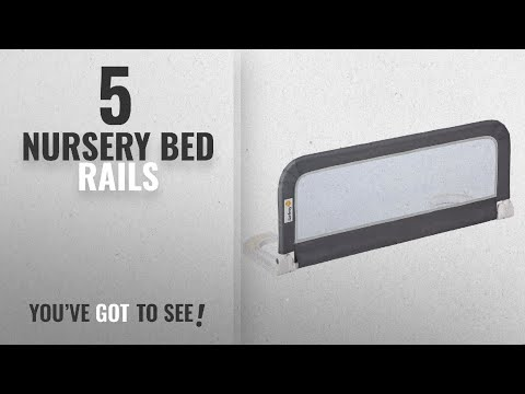 Top 10 Nursery Bed Rails [2018]: Safety 1st Portable Bed Rail (Dark Grey)