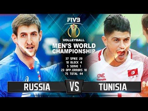 Russia vs.Tunisia |