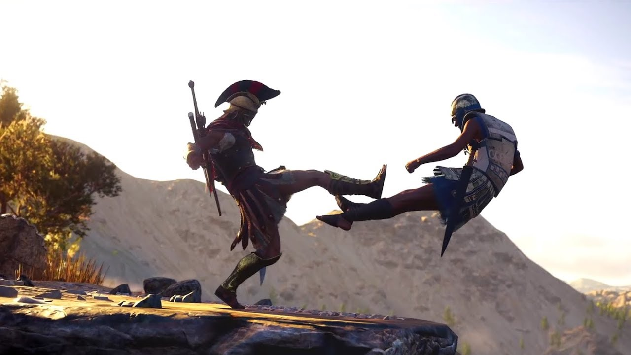 PS4『刺客教條:奧德賽』Big Choice 宣傳影片 - YouTube