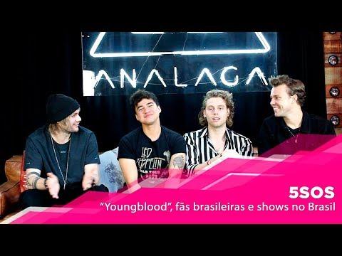 "5 Seconds Of Summer fala de ""Youngblood"" fãs brasileiras e shows no Brasil"
