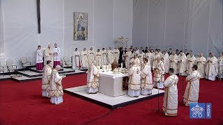 Beatification of 7 Romanian Greek Catholic Bishops, Martyrs of Communism 2 June 2019 HD