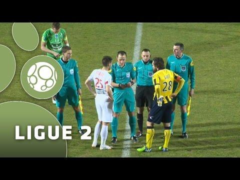 AC Arles Avignon – Stade Brestois 29 (1-0)  – Résumé – (ACA – SB29) / 2014-15