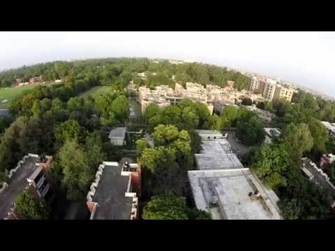 IITK from the sky - H4 flyby