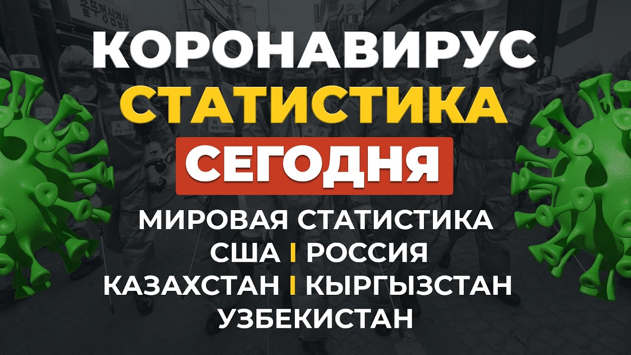 Коронавирус 23 июля. Статистика - Россия, Казахстан, Узбекистан, Кыргызстан сегодня
