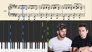 twenty one pilots: The Run And Go - Piano Tutorial