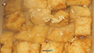 34 - Baccalà sotto il pesto..se un lo mangi sei da arresto! (secondo piatto tipico livornese facile)