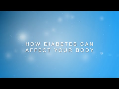 How Diabetes Can Affect Your Body