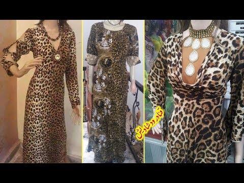 c8624f286 اكبر تشكيلة فصالات دشاديش عراقية وفساتين موديل تايجر جلد النمر 👗😘  dishdasha tiger 2017