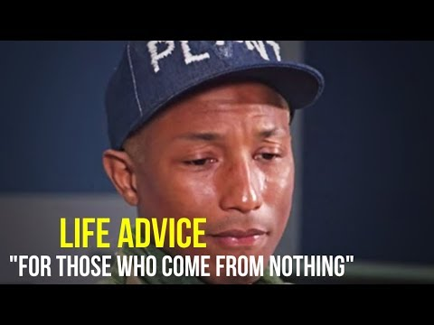 Pharrell Williams | 5 Minutes For The NEXT 50 Years of Your LIFE