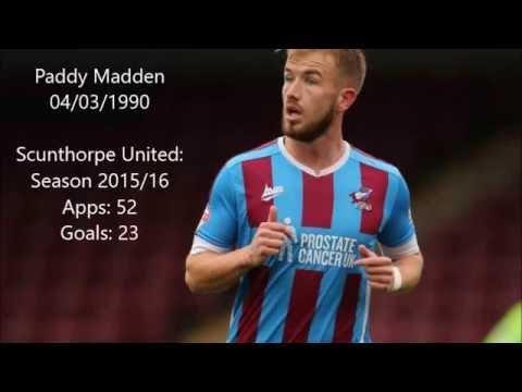 Paddy Madden: Scunthorpe United Season 15/16