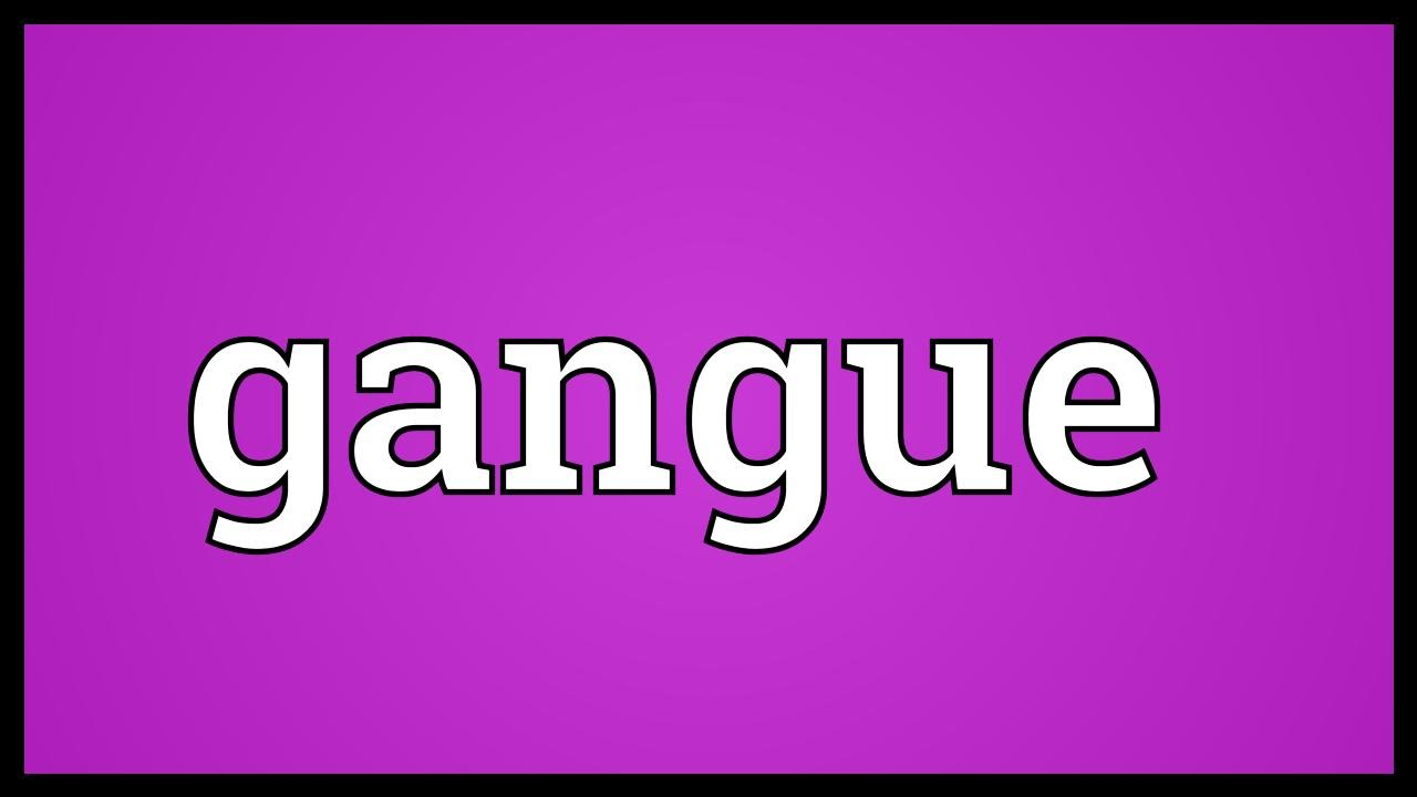 Gangue Meaning