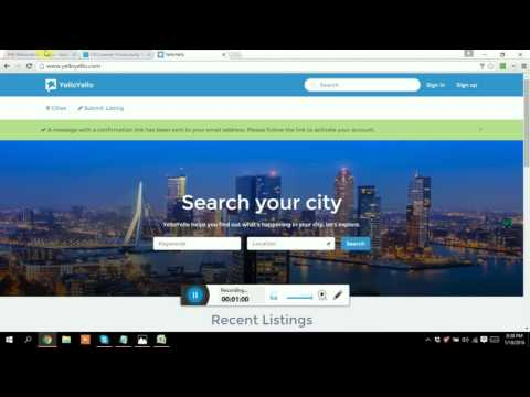 How to submit business on yelloyello com || BY || Md. Monir Hossain || freelancingaid.com