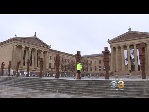 New Art Installation Goes On Display On Rocky Steps