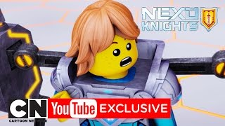 NEXO Knights | Brave And Bold (And Short) Sir Robin | Cartoon Network