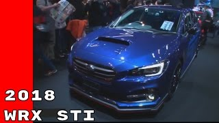 2018 Subaru Impreza WRX STI Wagon and Sedan At Tokyo Auto Salon 2017