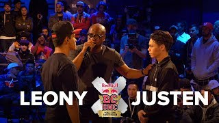 BBOY LEONY vs BBOY JUSTEN / FINAL BATTLE / RED BULL BC ONE LAST CHANCE CYPHER