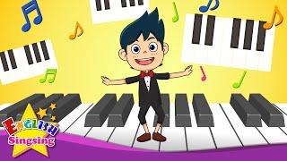 Video I'm a Music Man - Nursery Popular Rhyme - English Children Song with Lyrics download MP3, 3GP, MP4, WEBM, AVI, FLV Agustus 2018