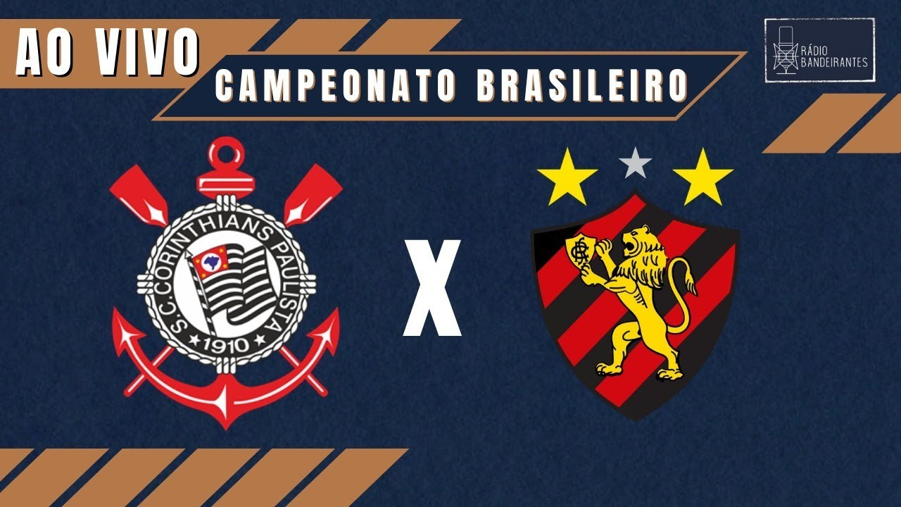 ? BRASILEIRÃO - CORINTHIANS X SPORT - AO VIVO - 24/06/2021 - Ulisses Costa e Cláudio Zaidan