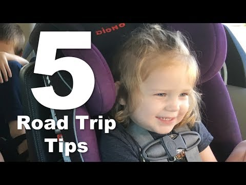 Road Trip Tips for Driving with Kids- Large Family Secrets
