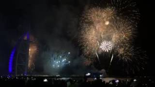Burj Al Arab Fireworks 2017 Dubai HD - ألعاب نارية برج العرب 2016