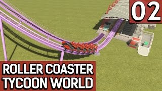 Roller Coaster Tycoon World BETA 1 #2 HUUUUUUUUUUUIIIIIIII deutsch german HD