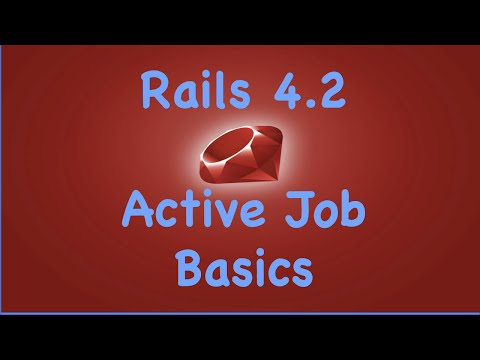 Rails 4.2 Active Job Basics