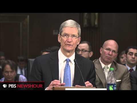 Apple CEO Tim Cook at Senate Hearings (part 2)