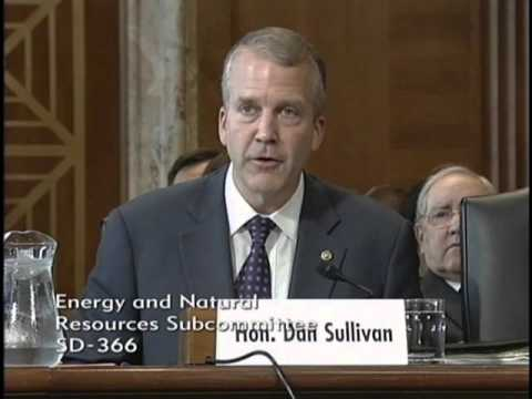 Sen. Dan Sullivan (R-AK) Testifies at Senate Energy and Natural Resources Hearing - October 8, 2015