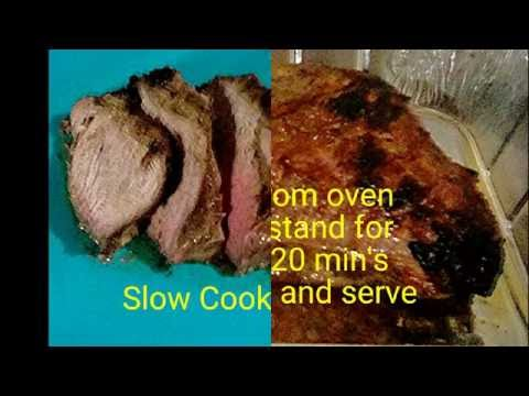 Slow Cooked Tri-tip