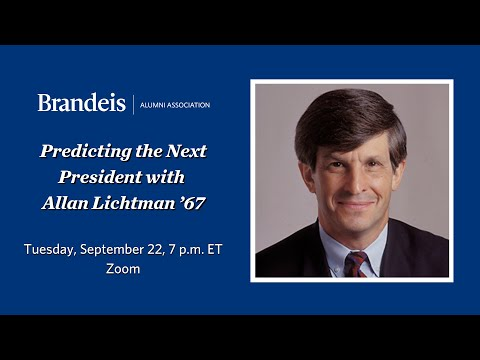 Predicting The Next President With Allan Lichtman '67
