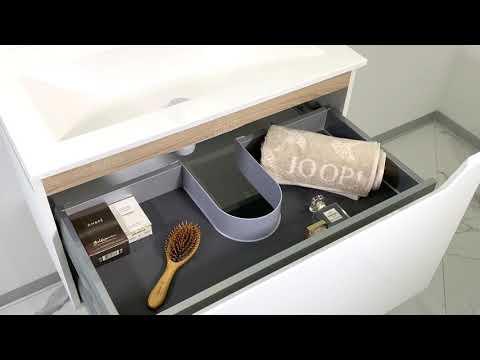 Intarbad - Designbader - Badmöbel Monza 80cm