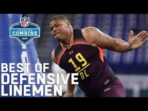 Best Of Defensive Linemen Workouts! | 2019 NFL Scouting Combine Highlights