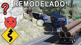 EL NUEVO ESPINAZO DEL DIABLO #1, Especial 20K | Mapa Mexico | Kenworth K100 | ATS