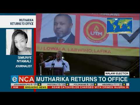 Mutharika Re-elected As Malawi's President