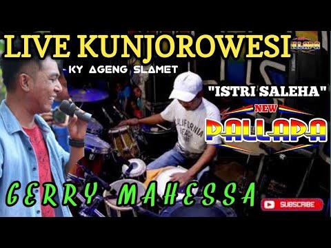 ISTRI SALEHA - Ky Ageng Slamet Cover NEW PALLAPA LIVE KUNJOROWESI-GERRY MAHESSA