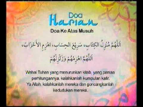 Doa Harian - Doa Ke Atas Musuh @ Kasih Ramadan 2010 Tv3!