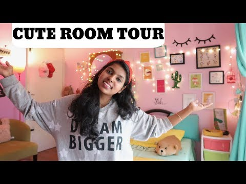 Cute Room Tour 2019 - Room Makeover 2019 Small Room | Indian Girl Room Tour - AdityIyer Room Tour