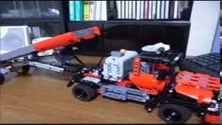 lego technic dump truck 2