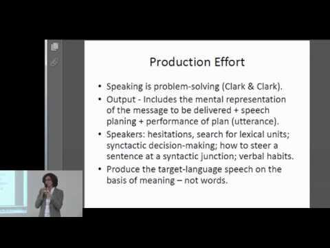Carmen Nigro - Giles Efforts Model - a Brief Overview