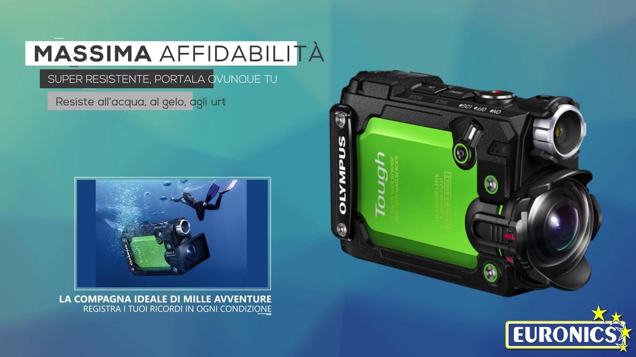TG Tracker Nero Dive Action Cam Olympus Stylus Tough