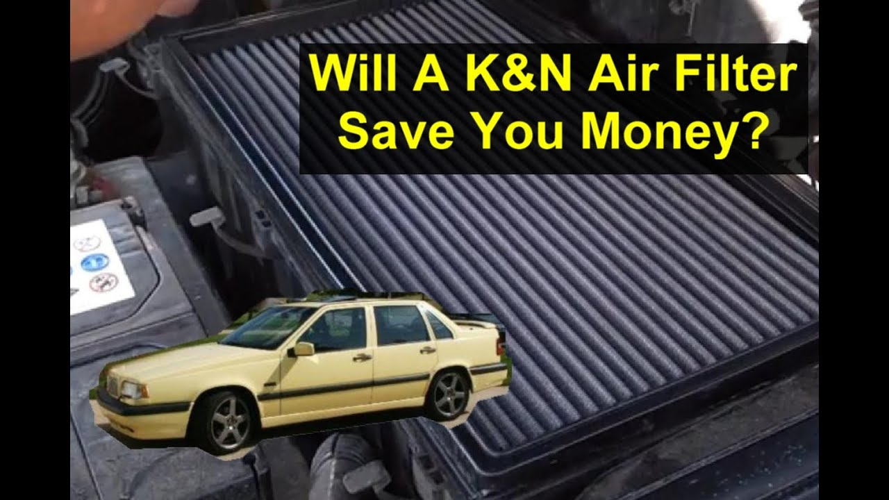 Will A Kn Air Filter Save You Money Over Paper Auto 03 Mustang Fuel Location Information Series