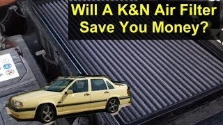 will a k air filter save you money over a paper filter auto information series