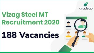 Vizag Steel Recruitment 2020 for Management Trainee (Without GATE), Apply till 13th Feb