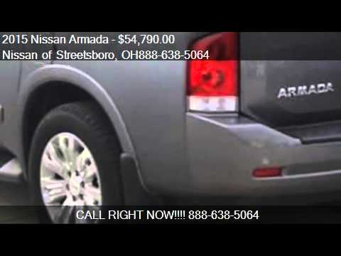 2015 nissan armada platinum 4x4 4dr suv for sale in streetsb youtube. Black Bedroom Furniture Sets. Home Design Ideas