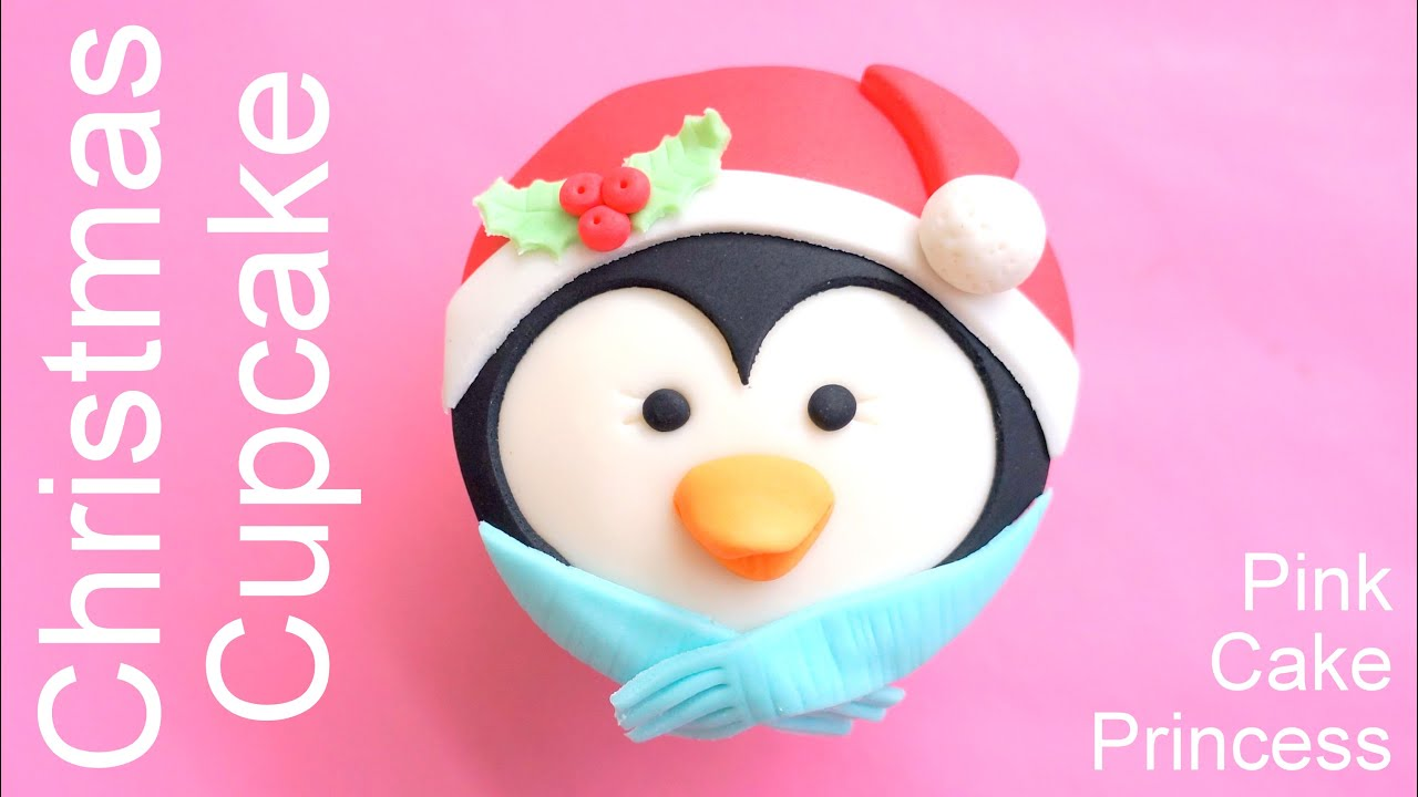 Christmas Cupcakes How To Make A Penguin Cupcake By Pink