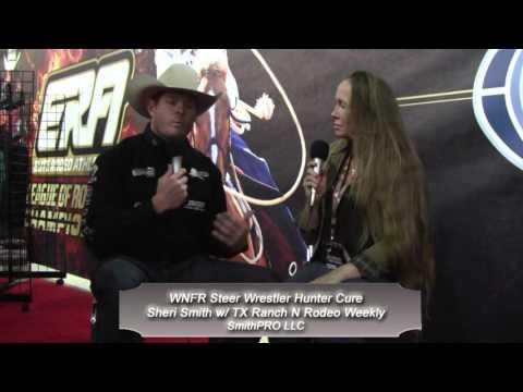 WNFR ERA Hunter Cure Steer Wrestler