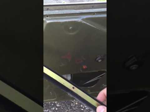 Установка ручного стеклоподъемника УАЗ буханка ч.2