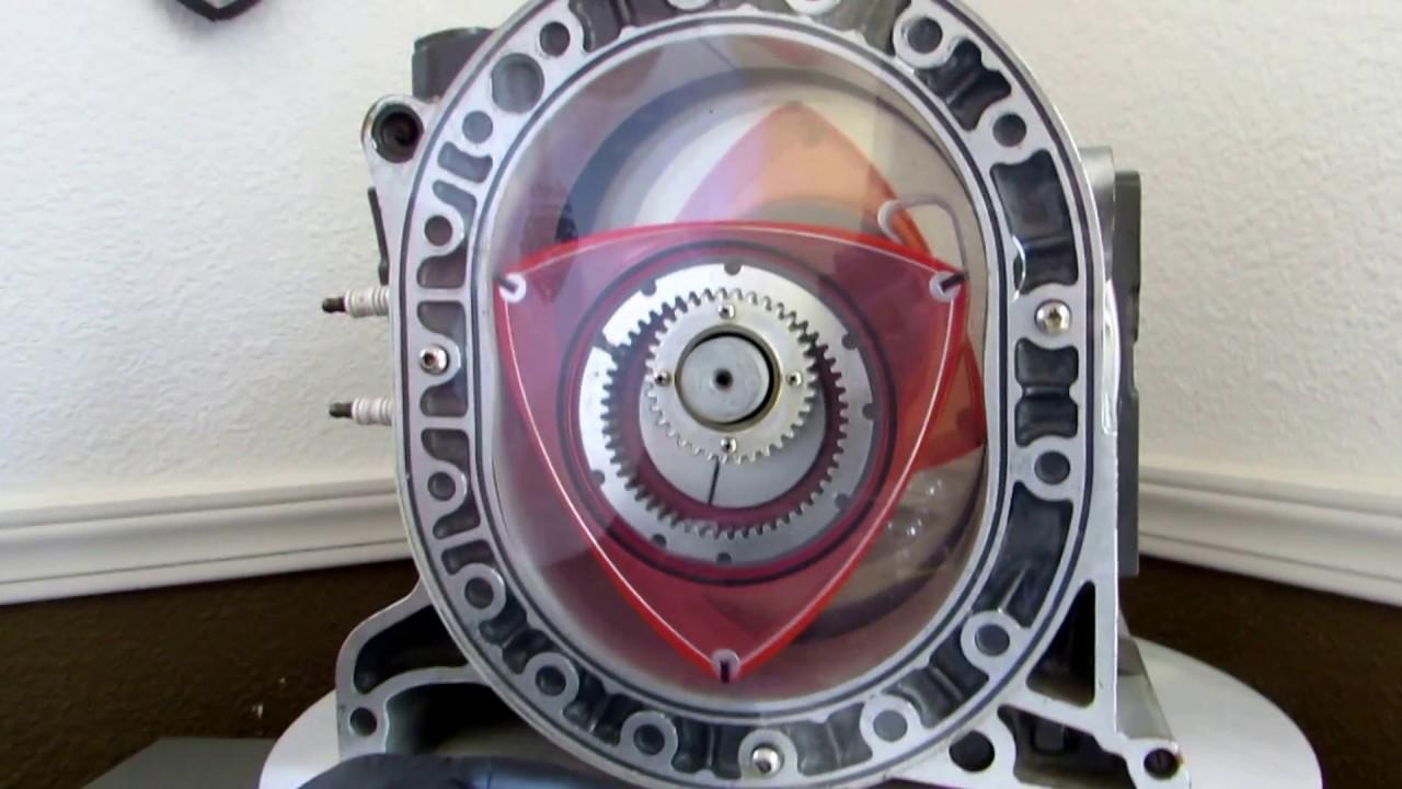 Kurt Robertson Explains How A Rotary Engine Works Youtube